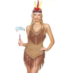 Indian Girl Costume - X-Large - Dress Size 14-16