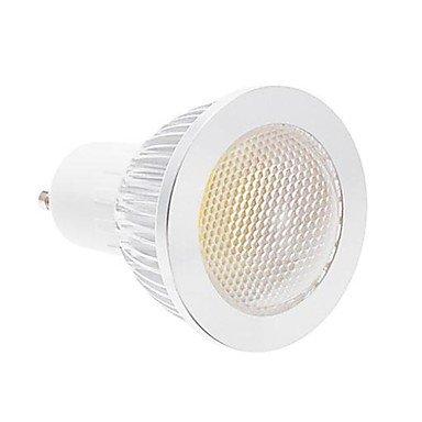Rayshop - Gu10 3W Cob 240Lm 4000K Natural White Light Led Spot Bulb -Silver(85V-265V)