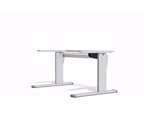 Ergobasis-Ergo-Tischgestell-Version-1-elektrisches-Gestell-silber