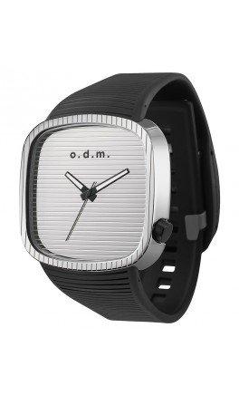 odm-pu-belt-luminous-watch-black-silver