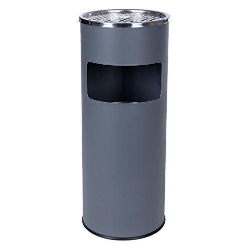 songmics-30-l-cubo-de-basura-de-acero-inoxidable-cenicero-basurero-color-gris-ltb17g