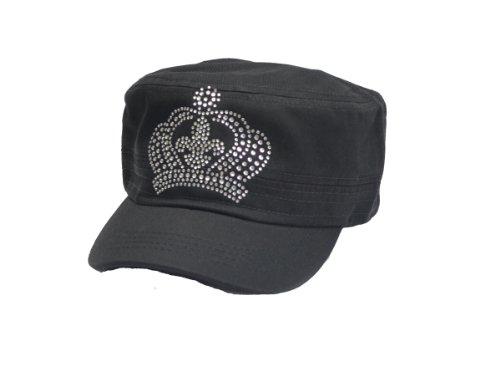 Saints Fleur De Lis Vintage Castro Newsboy Crown Hat