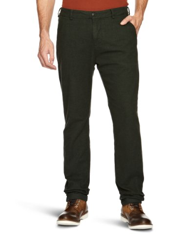 Staff Nollan Tapered Men's Trousers Olive W31INxL32IN