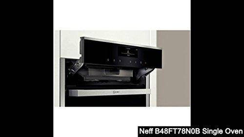 Neff B48FT78N0B FullSteam combination oven Stainless steel