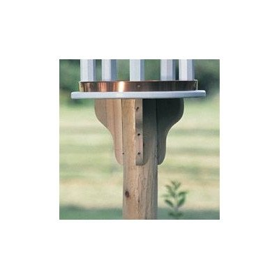 Good Directions Lazy Hill Farm Designs 51504 Cedar Brackets for Bird Houses, Small, Natural, Set of 4