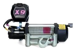 Superwinch 1901C X9 12Vdc Winch; Rated Line Pull Of 9,000 Lb/4082 Kg With Roller Fairlead