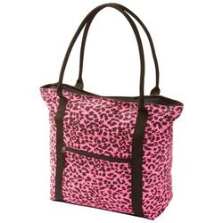 Pink Leopard Print Bedding front-326534