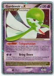 Pokemon Diamond & Pearl Secret Wonders Gardevoir Lv.X Holofoil Card 131/132