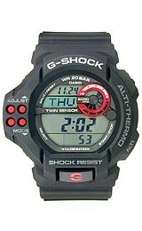 G-Shock Altimeter Barometer 20 Bar Grey Dial Men's watch #GDF100-1A