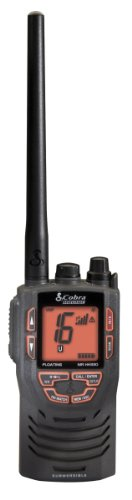 Cobra HH330 Floating Handheld Marine VHF Radio