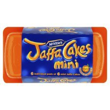 McVities Mini Jaffa Cakes Portion Pack 125g