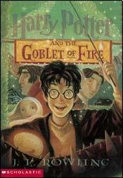 Cover of HARRY POTTER AND THE GOBLET OF FIRE (Spanish Edition)