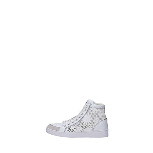 GUESS donna sneakers alte FLGRC1-ELE12 bianco 38 Bianco