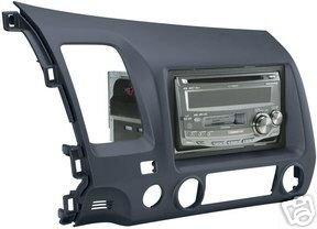 stereo install dash kit honda civic si 07 2007. Black Bedroom Furniture Sets. Home Design Ideas