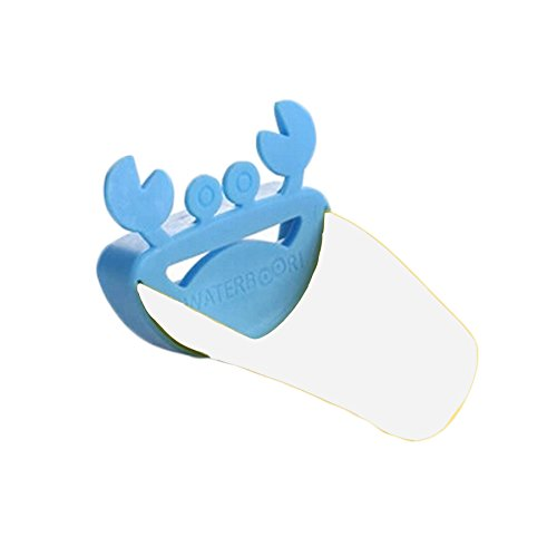 Miraclekoo Crab Faucet Extender for Kids Washing (blue)