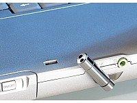 Q-Sonic Notebook Mini-Mikrofon im Metallgehäuse