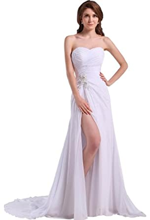 wedding dress at amazon women s clothing store ivory wedding dress