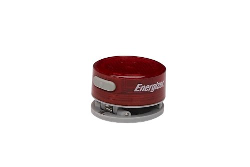 Energizer Energizer 1-LED Red Safety Flasher with Clip (Batteries Included)