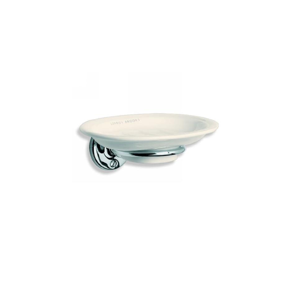 LB4937CP Edwardian China Soap Dish   Chromium Plate