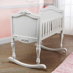 Check Out This Ga Ga Cradle,Color: White