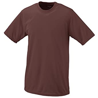 Augusta 100% Polyester Wicking T-Shirt , Double-needle hemmed sleeves and bottom by Augusta