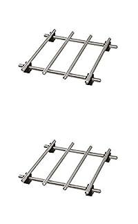 Ikea Trivet (2 Pack) Lamplig Stainless Steel 7 X 7'
