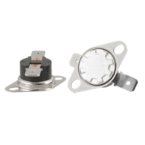 2 X Ksd302 55 Celsius Temperature Control Switch Thermostat N.O