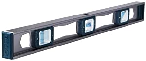 Empire Level EM81.24 Professional Magnetic Heavy Duty Aluminum I Beam Level, 24-Inch