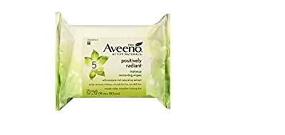 Best Cheap Deal for Aveeno Active Naturals Positively Radiant Makeup Removing Wipes 25 Wipes (Pac... by Aveeno - Free 2 Day Shipping Available