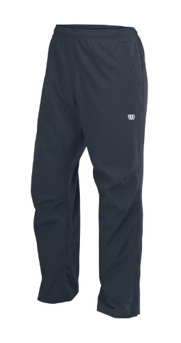 Wilson, Pantaloni sportivi Uomo M Rush Woven Pant, Nero (Coal/Tm), XXL