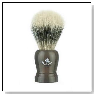 Vie-Long 13755 Horse Hair Shaving Brush, Grey Handle