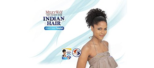 INDIAN-JERRY-PONY-8-MILKY-WAY-DRAW-STRING-WET-N-WAVY-PONYTAIL-SHAKE-N-GO