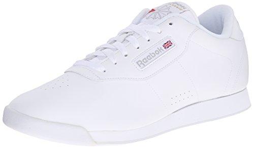 Reebok Women's Princess Sneaker,White,9.5 W