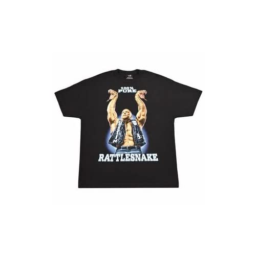 Stone Cold Steve Austin 100% Pure Rattlesnake Retro T-shirt - Size