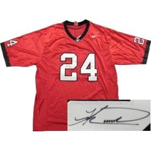 knowshon moreno signed georgia bulldogs jersey