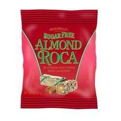 Sugar Free Almond Roca Hanging Bag (3 oz)