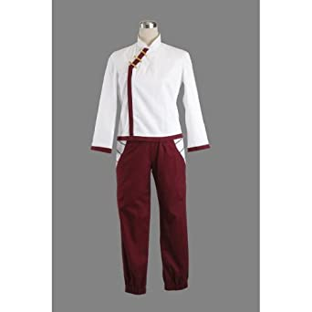 CTMWEB Japanese Anime Naruto Cosplay Costume - Tenten 2nd Ver Set XX-Small