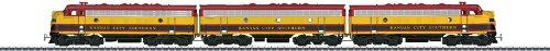 2012 Dgtl Kansas City Southern Emd F 7 A-B-A Diesel Electric Locomotive (Ho Scale)