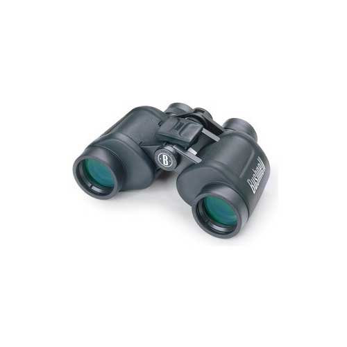 Bushnell Powerview 7x35 Porro Bk-7 Prism Rubber Armored Binoculars, Black, Box Pack 13-7307