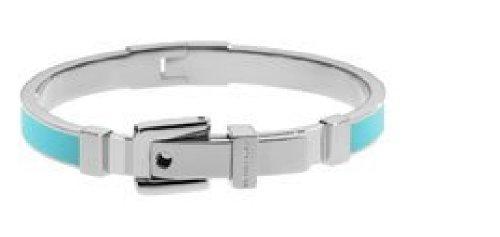 Michael Kors Mkj2274 Turquoise Buckle Enamel Bracelet