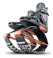 Kangoo Jumps XR3 Black and Orange Size Large Womens 10, 11, 12 Mens 9, 10, 11 from Kangoo Jumps