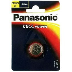 CR 2025 P 1-BL Panasonic; Knopfzelle Lithium Panasonic; CR 2025 EL