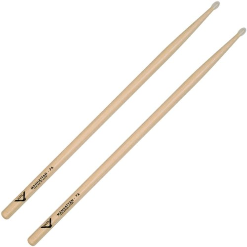 Vater Percussion 7A Drumsticks, Nylon Tip