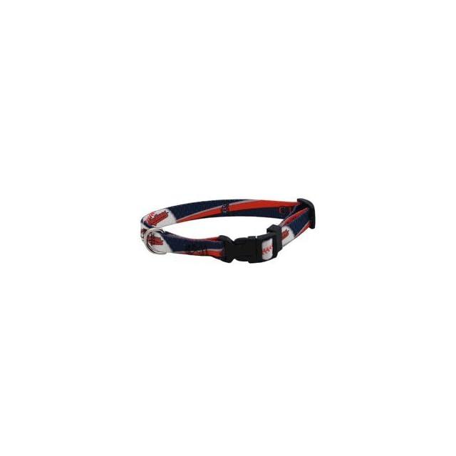 Cleveland Indians Pet Dog Collar (Small)
