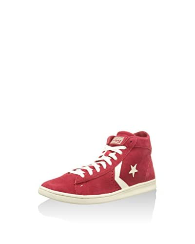 Converse Sneaker Pro Leather Mid Hi [Rosso/Bianco]