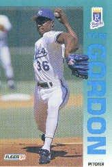 1992 Fleer #158 Tom Gordon