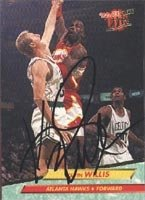 Kevin Willis Atlanta Hawks 1993 Fleer Ultra Autographed Hand Signed Trading Card. by Hall+of+Fame+Memorabilia
