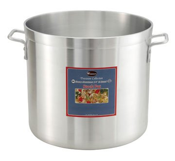Stock Pot, 20 Qt. Precision Extra Heavy 1/4