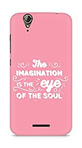 Amez The Imagination is the Eye of the Soul Back Cover For Acer Z630S