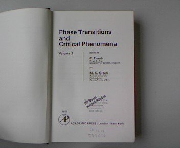 Phase Transitions and Critical Phenomena: v. 2